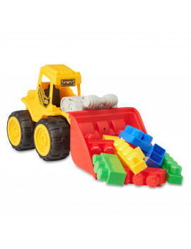 Kid Connection Construction Truck with Blocks, 11 Pieces