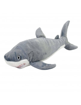 "great white shark stuffed animal - 15"" by wild republic"