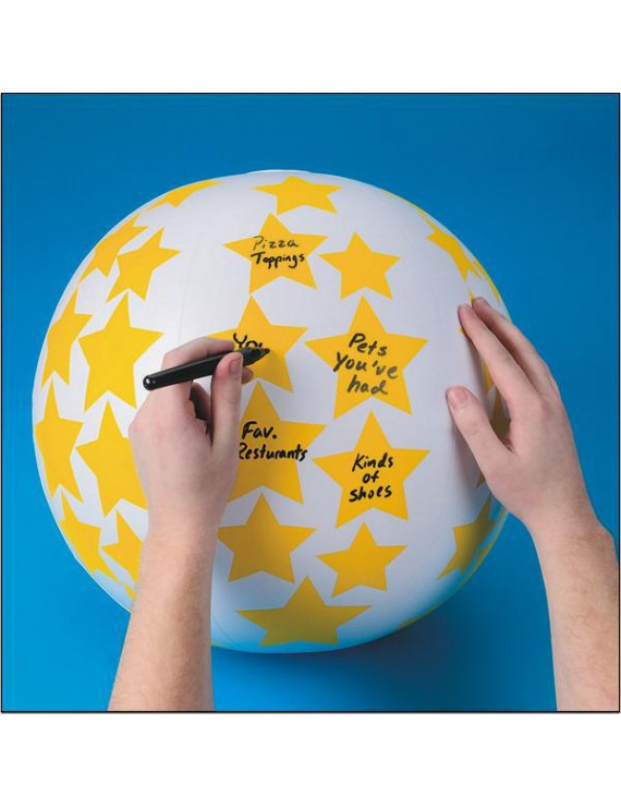 Create Your Own Toss 'n Talk-About Ball