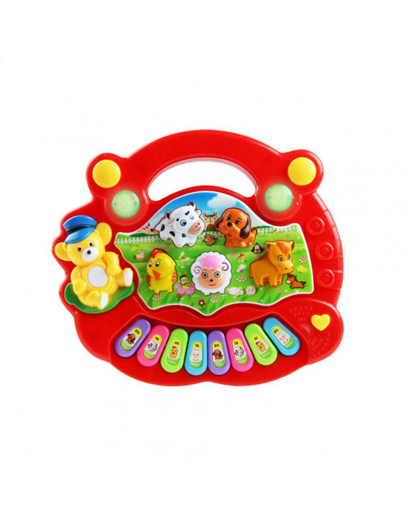 Musical Instrument Toy Baby Kids Animal Farm Piano Developmental Music Toys