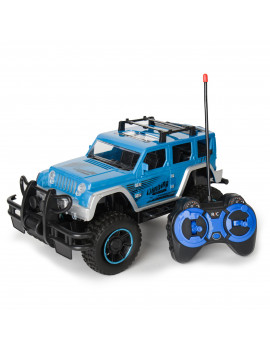1:12 Scale Remote Control RC Cars For Kids Monster SUV High Speed Racing Truck with Lights for Boys And Girls (Blue)