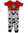 Nickelodeon Baby Boys White Red Paw Patrol Cotton Short Sleeve 2Pc Pajama