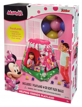 Disney Minnie Mouse Inflatable Playland Ball Pit including 20 Balls