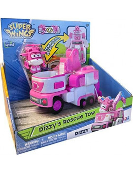 "Super Wings - Transforming Vehicle Dizzy (For Use With 2"" Figures)"