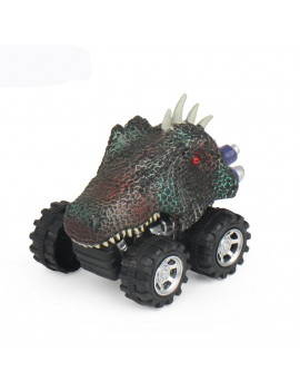 Original Color Dinosaur Cars,Pull Back Dinosaur Vehicle, Mini Pull Back Animal Car Toy for Toddlers Boys Girls,Animal Vehicles for Kids Party Favors