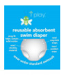 i play Unisex Reusable Absorbent Baby Swim Diapers - Swimming Suit Bottom | No Other Diaper Necessary Royal Blue 3T