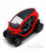 """Renault Twizy, Orange - Kinsmart 5111D - 5"""" Diecast Model Toy Car (Brand New, but NOT IN BOX)"""