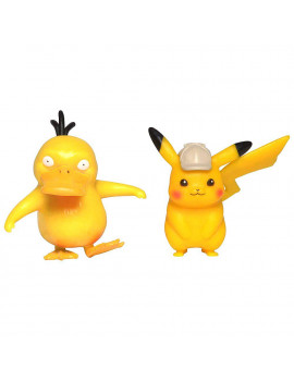 Pokemon Detective Pikachu & Psyduck Mini Figure 2-Pack