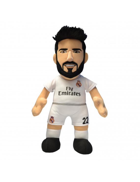 """Bleacher Creatures FCP Player 10"""" Plush Figure Real Madrid Isco"""