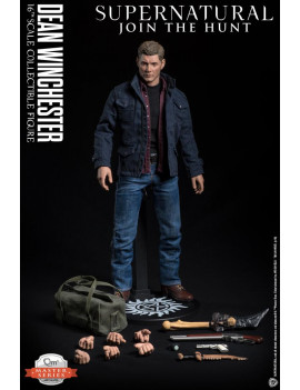 Dean Winchester 1:6 Scale Articulated Figure Supernatural QMx