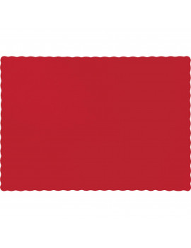 Classic Red Placemats, 50-Pack