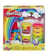 Play-Doh Rainbow Twirl Set, 8 Cans of 3-in-1 Rainbow Compound (10 oz)