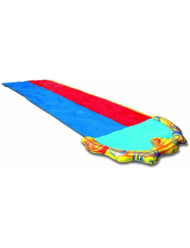 BANZAI 16ft x 58in Splash Sprint Racing Water Slide (Double Slide)