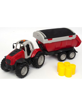 Adventure Force Af Tractor With Trailer.