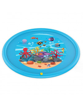 HOTBEST 170cm Inflatable Play Mat Water Toys Outdoor Party Kids Sprinkler Splash Pad