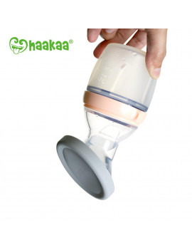 Haakaa Silicone Leak Proof Cap, 1 pk, Fit All Haakaa Breast Pumps, BPA PVC and Phthalate Free