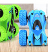 Bluelans Double Sided Inertial Sliding Stunt Off-Road Car Children Educational Toy Gift