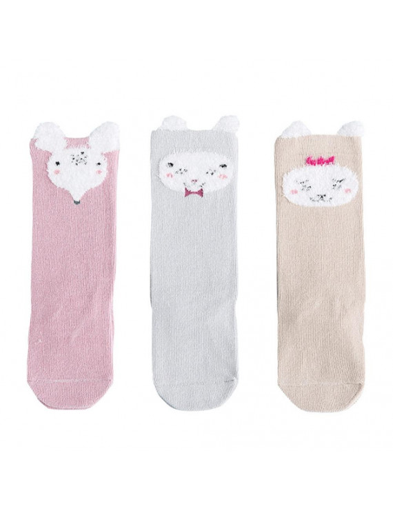 Akoyovwerve New Lovely Cute Cartoon Kid Child Socks Newborn Baby Socks For Spring Autumn Winter