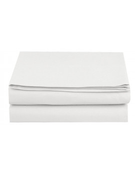 1500 Thread Count Hospitality Fitted Sheet 1-Piece Fitted Sheet, Twin/Twin XL Size, White