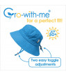 JAN & JUL Girls' Sun Hats for Big Kids with UV Protection, UPF 50+ Cotton (XL: 5-12 years, Cactus)