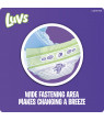 Luvs Super Absorbent Leakguards Newborn Diapers Size 5 88 count
