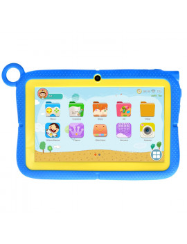 Azpen Wonder Tablet K749 Kids Tablet 7 inch HD screen with Kids UI and App store (Blue)
