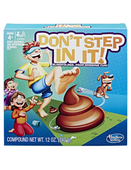 Don't Step In It, Preschool Game for Kids Ages 4 and up