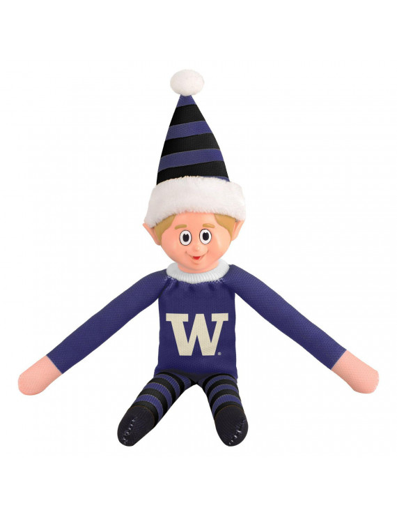 Forever Collectibles University Of Washington Elf Plush UW Team Doll