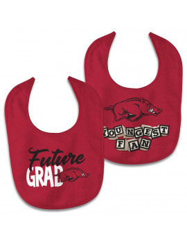 Arkansas Razorbacks WinCraft Newborn & Infant 2-Pack Bib Set