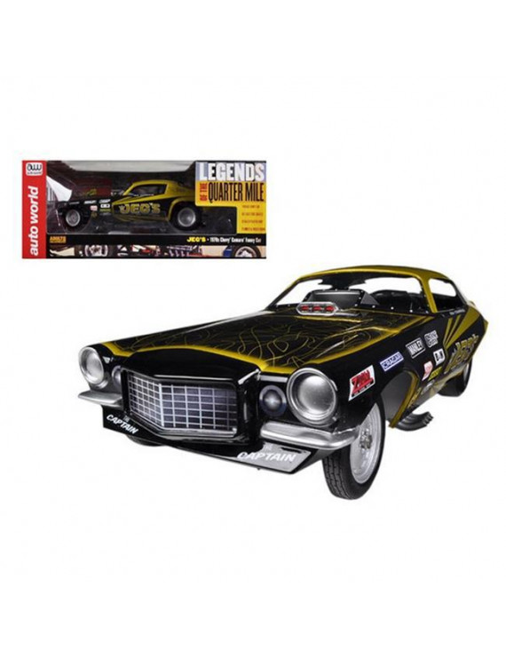Autoworld AW1160 1970s Jeg Coughlin Chevrolet Camaro NHRA Funny Car Limited to 1500 Piece 1-18 Model Car