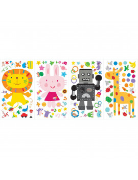 Lazoo Peel-and-Stick Wall Decals