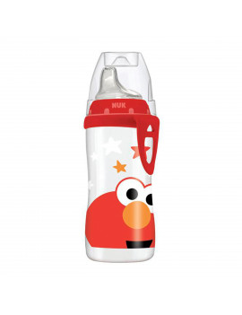NUK Sesame Street Elmo Active Soft Spout Sippy Cup, 10 oz