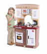 Step2 Lifestyle Fresh Accents Play Kitchen with 30 Piece Accessory Play Set