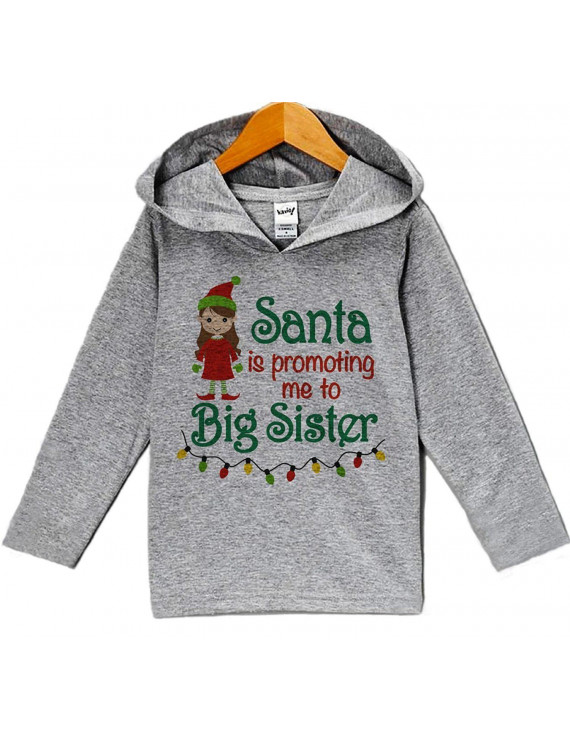 Custom Party Shop Baby's Big Sister Hoodie - 12 Months