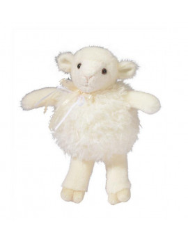 """Douglas Cuddle Toys Skippy Puff Cream Lamb 8"""" by"""