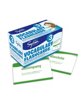 3rd Grade Vocabulary Flashcards : 240 Flashcards for Improving Vocabulary Based on Sylvan's Proven Techniques for Success