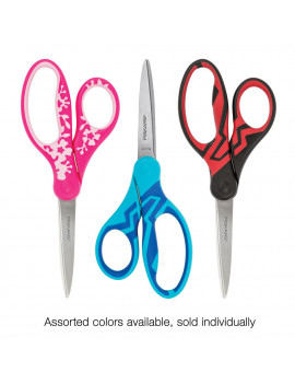 "Fiskars 7"" Softgrip Student Scissors (Color Received Varies)"