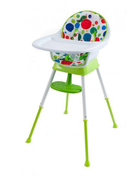The World of Eric Carle Very Hungry Caterpillar 3-in-1 Convertible High Chair, Playful Dots