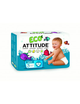 ATTITUDE Diapers (Choose Size and Count)