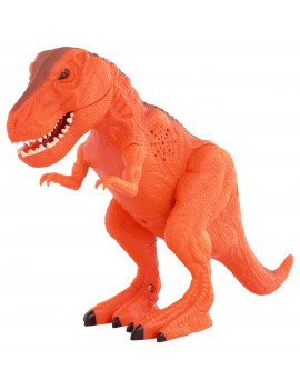 Adventure Force 7.88 inches Mighty Megasaur T-Rex, Orange