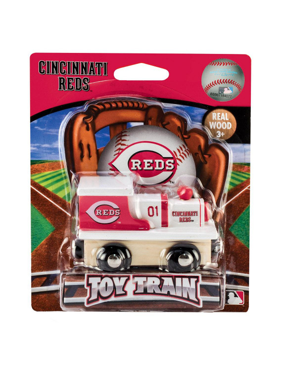 MasterPieces MLB Cincinnati Reds Toy Train