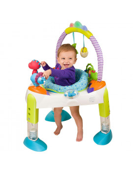 Evenflo Exersaucer Fast Fold and Go Activity Center, D is for Dino