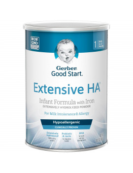 Gerber Extensive HA Hypoallergenic Powder Infant Formula with Iron 14.1 oz