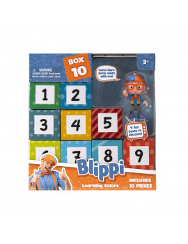 Blippi Surprise Boxes Learning Colors