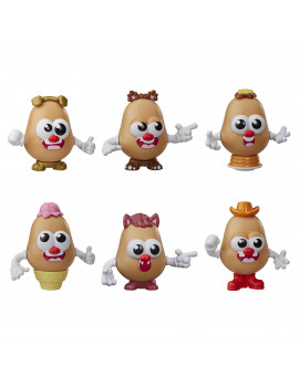 Mr. Potato Head Tots Multi-Pack Bundle, Pack of 6 Tots
