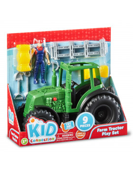 Kid Connection Farm Tractor Play Set, 9 Pieces