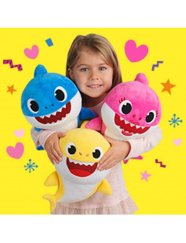 Plush Toy - Baby Shark Pinkfong - Bundle of 3 - 10 Inch