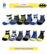 DC Comics Assorted Superhero Characters 12 Pair Socks Set, Baby Boys, Age 0-24M