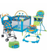 Cosco Deluxe Funsport® Portable Compact Play Yard, Monster Syd