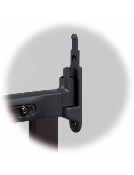 KidCo Angle Mount Safeway gate - adjustable gate width: 28? ? 42.5?, espresso